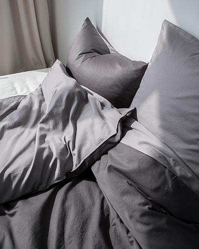 모달 호텔 침구세트 그레이&차콜
